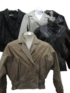 1980's Wholesale Womens Leather Jackets