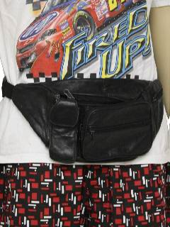 1990's Unisex Accessories - Totally 80s Fanny Pack