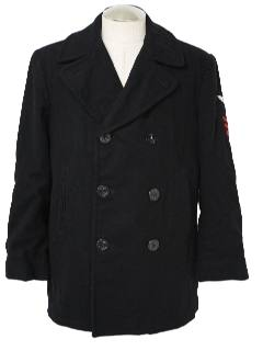1990's Mens Pea Coat