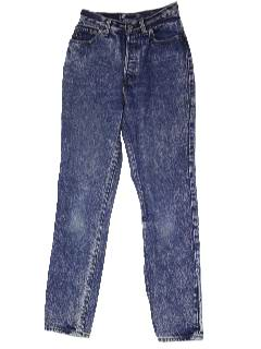 1980's Womens Totally 80s Stone Washed Jeans
