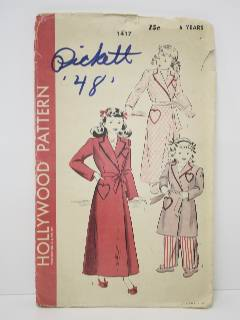 1940's Girls Pattern