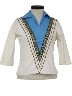 1960's Womens Western Shirt
