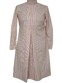 1960's Womens Mod Maternity Dress