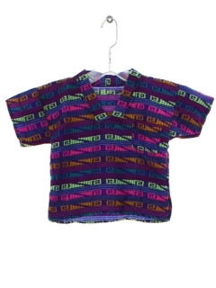 1980's Unisex Childrens Hippie Shirt