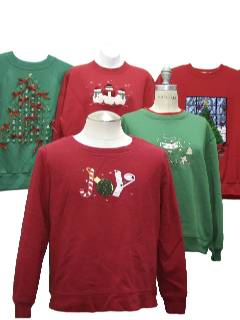1990's Wholesale Womens Ugly Chirstmas Sweatshirts