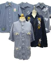 1970's Wholesale Womens Hippie Shirts