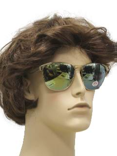 1960's Mens Mod Aviator Sunglasses