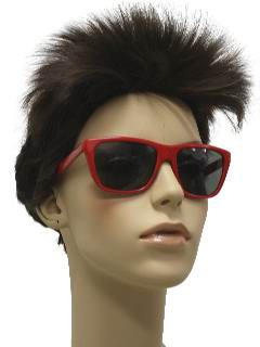 1980's Womens Totally 80s Wayfarer Sunglasses