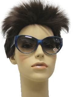 1980's Womens Totally 80s Cat Eye Sunglasses