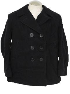 1990's Mens PeaCoat Jacket