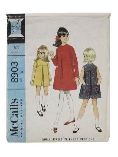 1960's Womens/Girls Dress Pattern