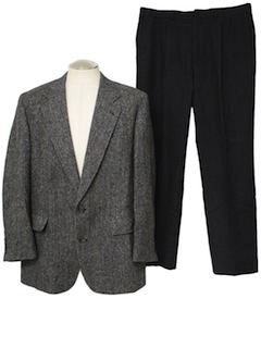 1970's Mens Wool Combo Suit