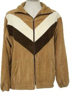 1970's Mens Terry Cloth Jacket