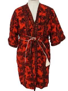 1960's Unisex Terrycloth Robe