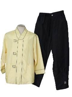 1990's Unisex Pant Suit