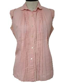 1960's Womens Maternity Shirt
