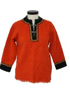 1970's Womens Wool Sweater