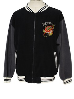 1980's Mens Wicked 90s Baseball Jacket