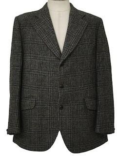 1970's Mens Wool Blazer Style Sportcoat