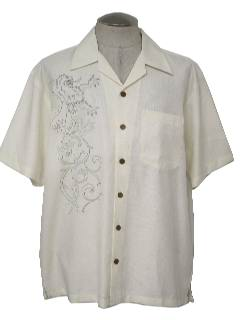 1990's Mens Dragon Sport Shirt