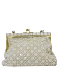 1960's Womens Accessories - Beaded Purse
