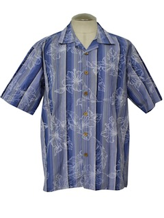 1980's Mens Hawaiian Sport Shirt