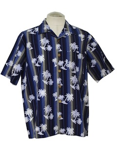 1990's Mens Hawaiian Sport Shirt