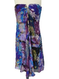 1990's Womens Designer Cocktail Dress