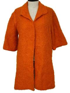 1960's Womens Reversible Mod Duster Jacket