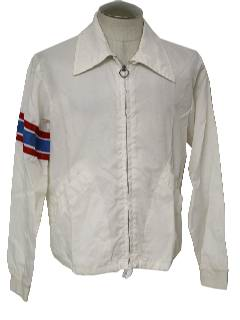 1970's Mens Mod Racing Jacket