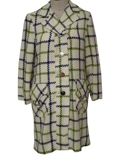 1960's Womens Duster Jacket