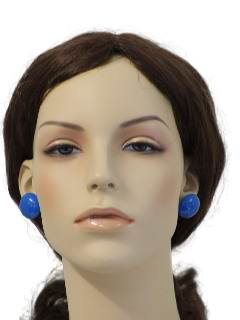 1980's Womens Accessories - Pierced Earrings
