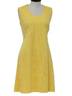 1960's Women Knit Dress