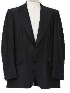 1970's Mens Blazer Suit Coat Jacket