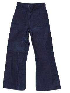 1970's Womens Denim Bellbottoms Jeans Pants