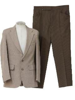 1970's Mens Combination Knit Suit