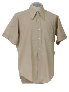 1970's Mens Casual Shirt