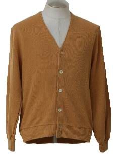 1970's Mens Knit Cardigan