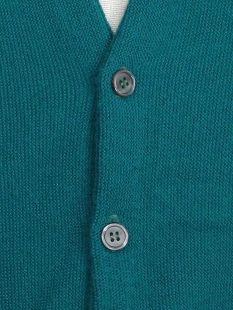 b06453e44e Pine State 80 s Vintage Caridgan Sweater  80s -Pine State- Mens teal  acrylic longsleeve cardigan sweater with a banded waist