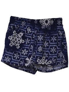 1960's Mens Mod Shorts
