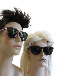 1990's Unisex Accessories - Sunglasses