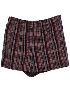 1970's Mens Mod Shorts