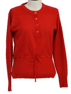 1960's Womens Sweater