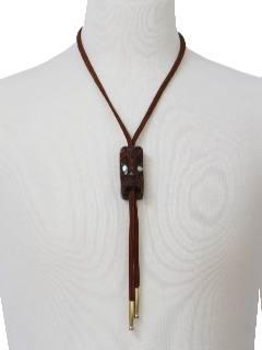 1960's Mens Bolo Necktie