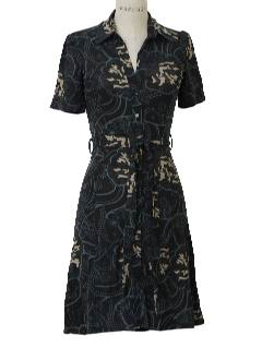 1940's Womens Retro Style House Dress