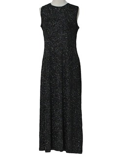 1990's Womens Cocktail Maxi Dress or Prom Dress
