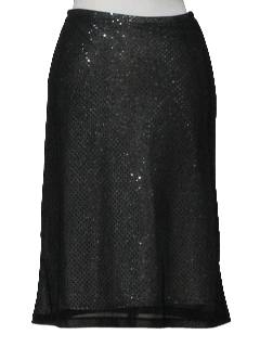 1990's Womens Wicked 90s Cocktail Skirt