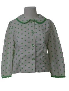 1960's Womens Mod Shirt Jac