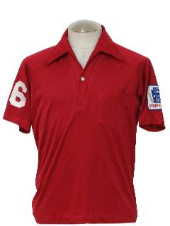 1970's Mens Golf Style Shirt