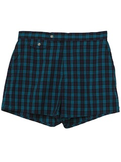 1980's Mens Mod Shorts